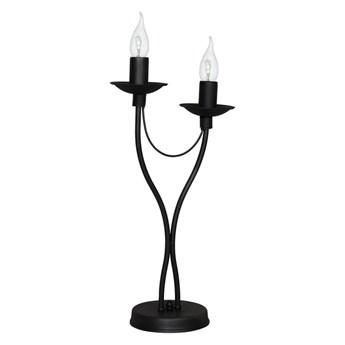 Lampa stołowa RÓŻA 2 BLACK 397B1/M ALDEX 397B1/M