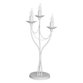 Lampa stołowa RÓŻA 3 WHITE 397B/D ALDEX 397B/D