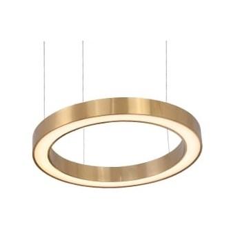 Bold Ring 60 - żyrandol LED 60cm pierścień złoty