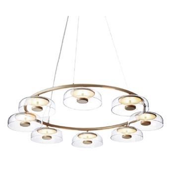 Tigel 8 - nowoczesna lampa wisząca żyrandol LED 8 punktów