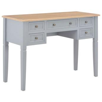 Szare minimalistyczne biurko do gabinetu - Marshal