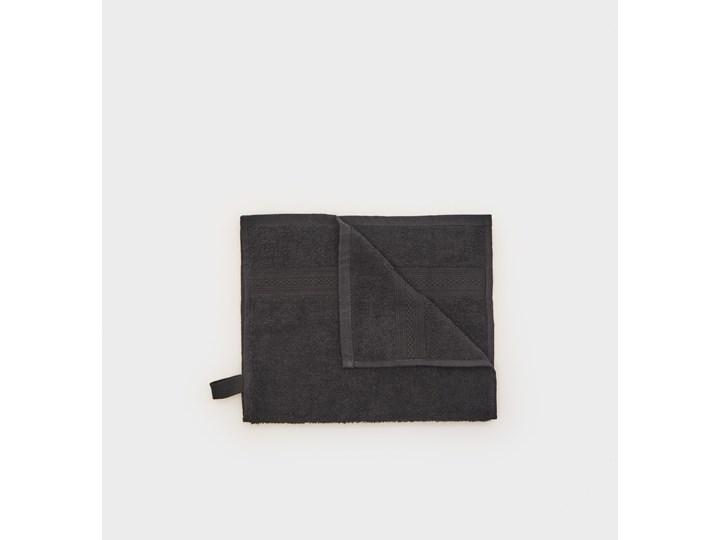 Sinsay - Ręcznik bawełniany - Czarny 30x50 cm Bawełna Kategoria Ręczniki