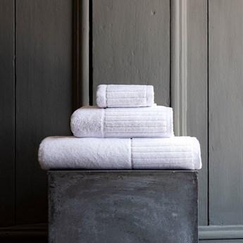 Ręcznik bawełniany Sorema Hotel Stripe White