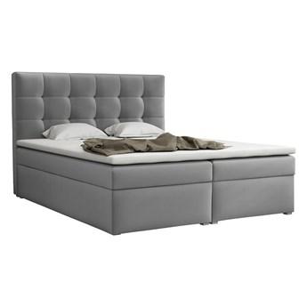 Łóżko kontynentalne z materacem DREAM BOX 160x200 podwójny pojemnik