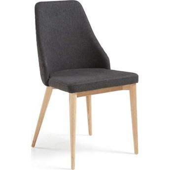 Krzesło Roxie 48x88 cm ciemnoszare