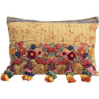 Poduszka dekoracyjna Textured Tassels 50x35 cm kolorowa