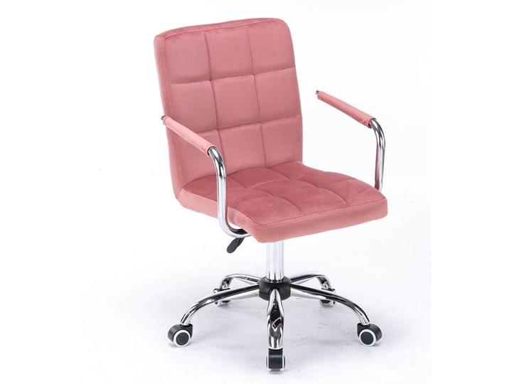 Krzesło biurowe obrotowe HARIS (SC-ZT1305) / Ciemny różowy