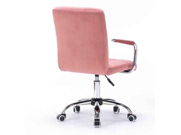 Krzesło biurowe obrotowe HARIS (SC-ZT1305) / Ciemny różowy Krzesło do biurka Styl Nowoczesny