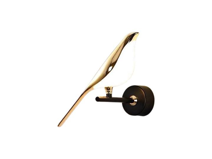 N-gale - kinkiet nowoczesny ptak LED Szkło Lampa z kloszem Tworzywo sztuczne Metal Funkcje Lampa LED