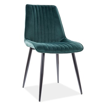 Krzesło KIM VELVET zielone SIGNAL