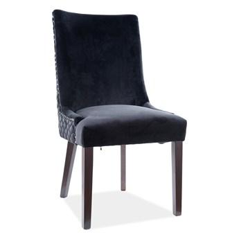 Krzesło LEON VELVET czarne SIGNAL