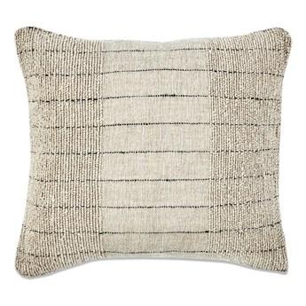 Beżowa poszewka na poduszkę z bawełny i lnu Nkuku Mayla, 50x50 cm