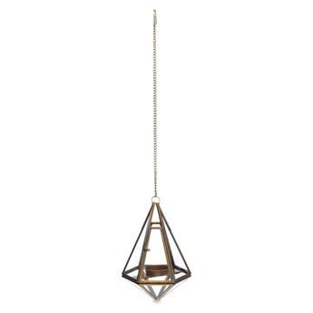 Lampion w kolorze złota Nkuku Mokomo, wys. 15,5 cm