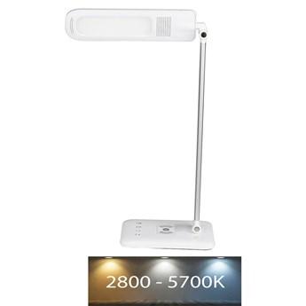 LED Ściemniana dotykowa lampa stołowa z ładowaniem bezprzewodowym USB LED/16W/230V