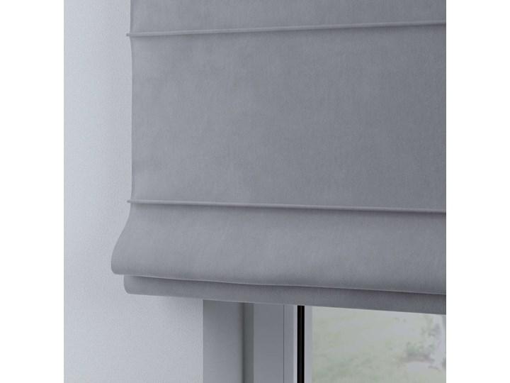 Roleta rzymska Billie, srebrzysty szary, szer.100 × dł.170 cm, Posh Velvet Pomieszczenie Pokój przedszkolaka