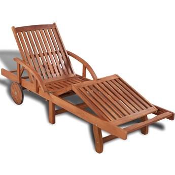 Drewniany leżak ogrodowy - Majorka