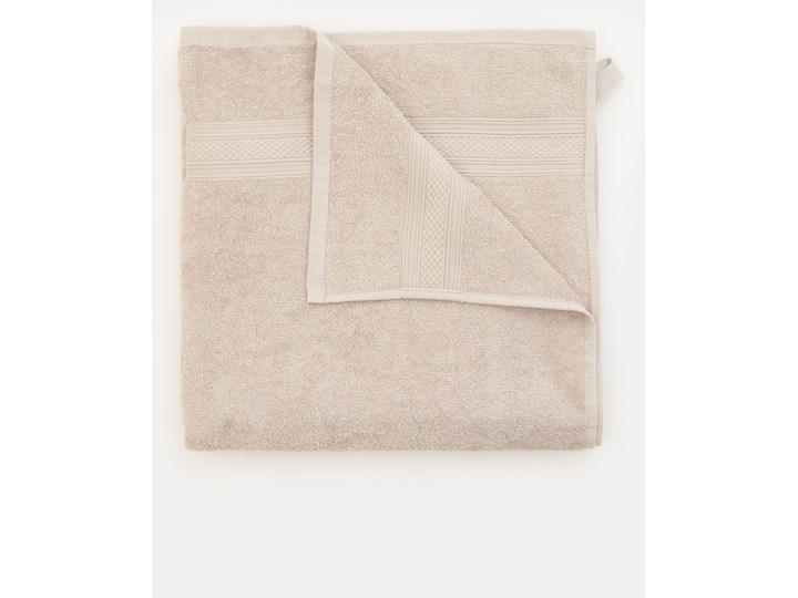 Sinsay - Ręcznik bawełniany - Jasny szary Kategoria Ręczniki 70x140 cm Bawełna Kolor Beżowy