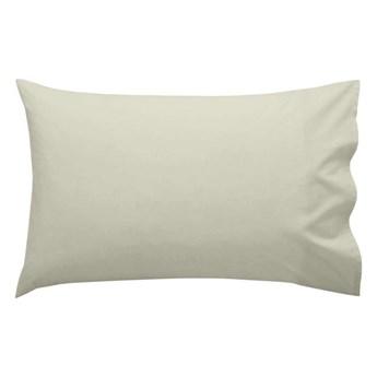 Zestaw 2 beżowych poszewek na poduszki Happy Friday Basic, 50x80 cm