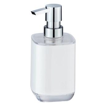 Biały dozownik do mydła Wenko Masone