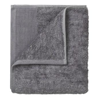Zestaw 4 ciemnoszarych bawełnianych ręczników Blomus, 30x30 cm