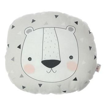 Poduszka dziecięca z domieszką bawełny Mike & Co. NEW YORK Pillow Toy Argo Bear, 30x33 cm
