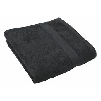 Czarny ręcznik Tiseco Home Studio, 50x100 cm