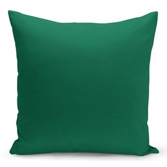 Zielona poduszka Lisa, 43x43 cm