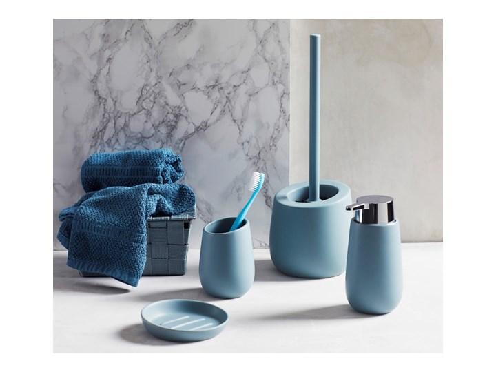 Szaroniebieski ceramiczny dozownik do mydła Wenko Badi, 320 ml Dozowniki Ceramika Kategoria Mydelniczki i dozowniki