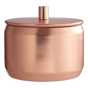 Pojemnik ze stali nierdzewnej w kolorze miedzi Premier Housewares, Ø 12x11 cm