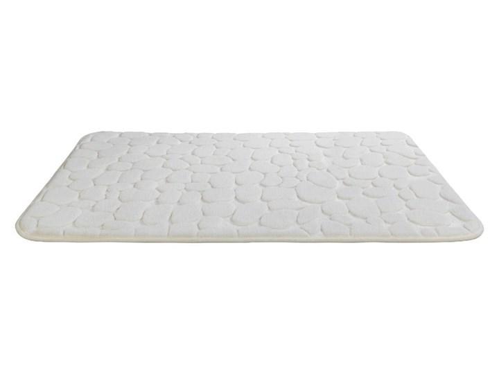 Beżowy dywanik łazienkowy z pianką z pamięcią kształtu Wenko Beige, 80x50 cm