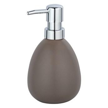 Brązowy ceramiczny dozownik do mydła Wenko Polaris