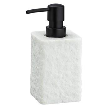 Biały dozownik do mydła Wenko Villata, 300 ml