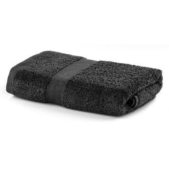 Ciemnoszary ręcznik DecoKing Marina, 50x100 cm