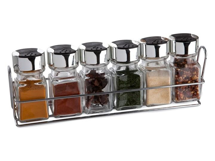 Zestaw 6 pojemniczków na przyprawy ze stojakiem Sabichi Spicy