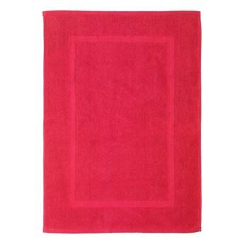 Czerwony bawełniany dywanik łazienkowy Wenko Watermelon, 50x70 cm