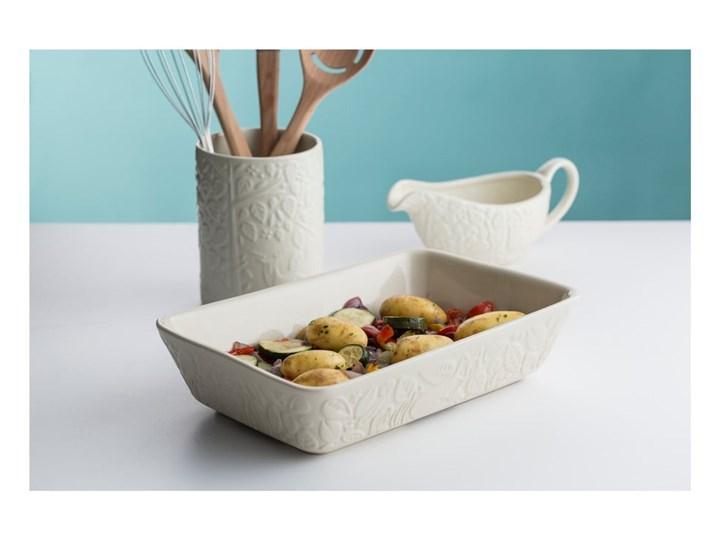 Kremowe kamionkowe naczynie do zapiekania Mason Cash In the Forest, 31x20 cm Ceramika Kolor Beżowy Kategoria Naczynia do zapiekania