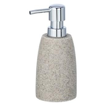 Jasnoszary dozownik do mydła Wenko Goa