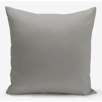 Szara poszewka na poduszkę Minimalist Cushion Covers Düz, 45x45 cm