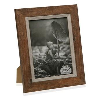 Drewniana ramka na zdjęcie Versa Madera Marron, 22,5x27,5 cm