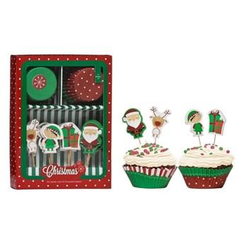 Zestaw do dekoracji tortów Premier Housewares Christmas Cupcake