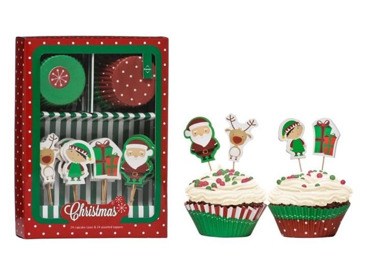 Zestaw do dekoracji tortów Premier Housewares Christmas Cupcake Zestawy do dekoracji Kategoria Dekoracja wypieków