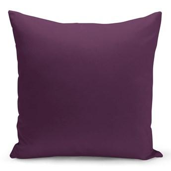 Fioletowa poduszka Lisa, 43x43 cm