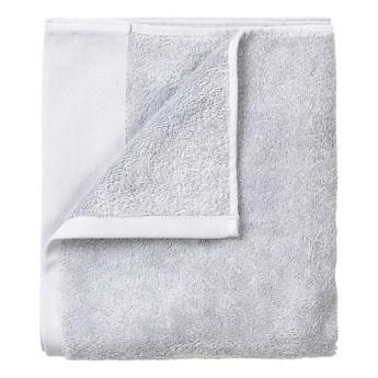 Zestaw 4 jasnoszarych ręczników Blomus. 30x30 cm
