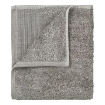 Zestaw 4 szarych bawełnianych ręczników Blomus, 30x30 cm