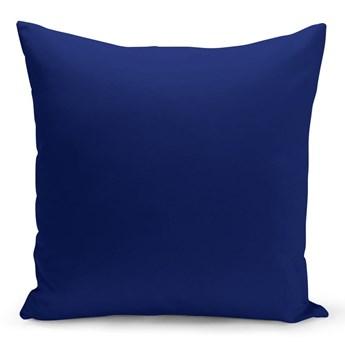 Niebieska poduszka Lisa, 43x43 cm