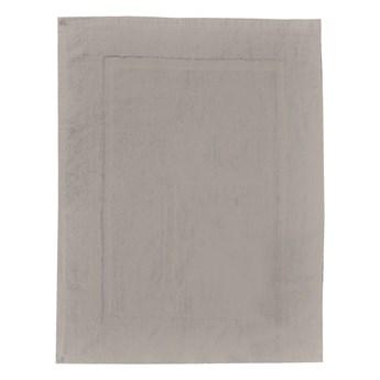 Szarobeżowy bawełniany dywanik łazienkowy Wenko, 50x70 cm