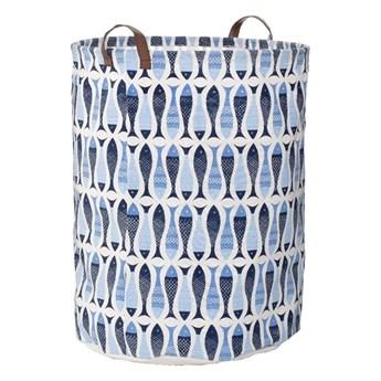 Niebieski kosz na pranie Premier Housewares Pisces