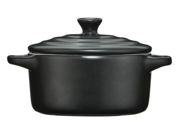 Mały czarne naczynie do zapiekania Premier Housewares, 230 ml Kolor Czarny Kategoria Naczynia do zapiekania