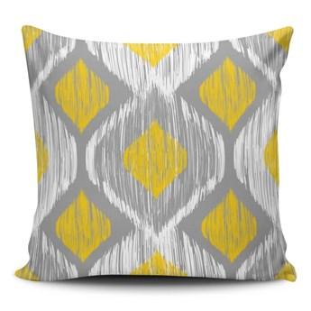 Poduszka z domieszką bawełny Cushion Love Geo, 45x45 cm