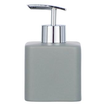 Szary ceramiczny dozownik do mydła Wenko Hexa